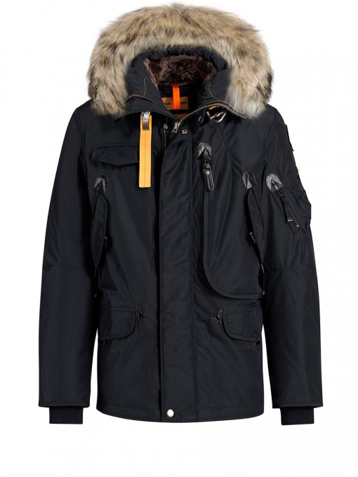 PARAJUMPERS RIGHT HAND MEN ANTHRACITE