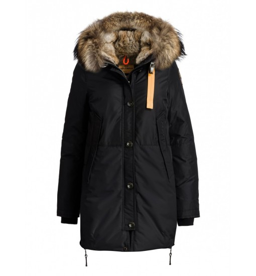 PARAJUMPERS LONG FORBES BLACK